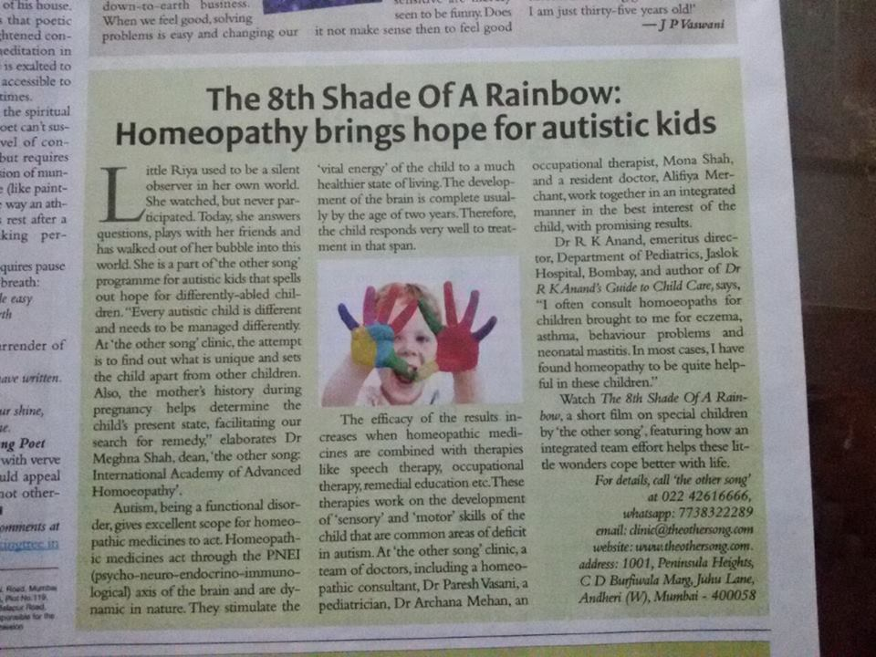 HOMEOPATHY FOR AUTISM